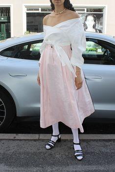 Swipe I Dress, Strapless Dress, Parsons School Of Design, Mara Hoffman, A Line Skirts, Spring Summer, Feminine, Rose, How To Wear