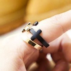 Retro Punk Cross Open Ring for only $7.90 ,cheap Fashion Rings - Jewelry&Accessories online shopping,Retro Punk Cross Open Ring is a beautiful accessories in your hand.It will be a perfect gift for her!