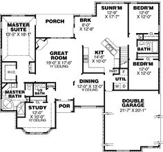 1700 Sq Ft Country Home Plans 1700 FT Floor Plans Home Plan And
