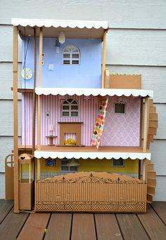 http://www.ikatbag.com/2012/04/cardboard-barbie-house.html