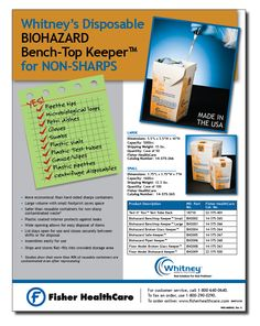Whitney Medical Solutions - product sell sheet