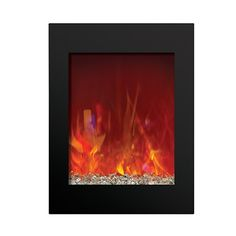 Amantii Zero Clearance Vertical Electric Fireplace #LearnShopEnjoy
