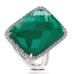 White topaz over emerald. What will these people think of next? There is no where else you could find beauty like this