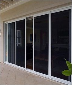double sliding glass patio door with screen | Windows Screen Repair