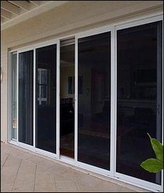 double sliding glass patio door with screen | Windows Screen Repair