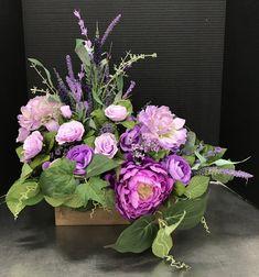 Purple Remembrance by Andrea