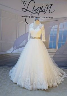 "Based in Kempton Park, Johannesburg, By Ligita is a Bridal Couture Boutique with several ranges of Wedding Gowns and Dresses including ""Aurora"" from Nicole Spose. Wedding Gowns, Couture, Boutique, Bridal, Formal Dresses, Accessories, Collection, Fashion, Haute Couture"