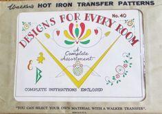 Vintage Broderie Motif /& Iron On Transfert-crinoline Lady Design en 5 Tailles