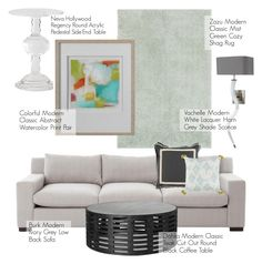 """""""Modern Classic Decor"""" by kathykuohome ❤ liked on Polyvore featuring interior, interiors, interior design, home, home decor, interior decorating, modern, Home and modernclassic"""