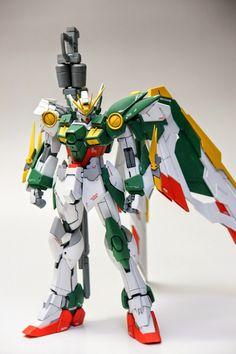 GUNDAM GUY: MG 1/100 Wing Gundam Fenice EW Ver. - Customized Build