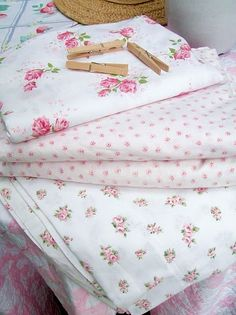long before Target, Rachel Ashwell sold lovely floral bedding at Mervyn's... I love these sheets with the small rose print.