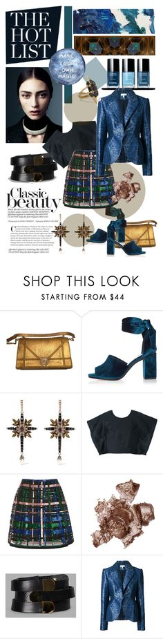 """""""Magic!*"""" by cranetattoo ❤ liked on Polyvore featuring River Island, Alexander McQueen, Delpozo, LIST, Elie Saab, By Terry, Absidem, Noir Jewelry, Chanel and AlexanderMcQueen"""