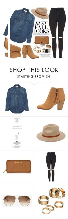 Fall Look by monmondefou on Polyvore featuring Yves Saint Laurent, Topshop, Charlotte Russe, Michael Kors, Apt. 9, Billabong, Chloé, H&M, Urban Outfitters and Fall