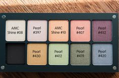 INGLOT Freedom System Palete with Pearl and AMC Shine Colors