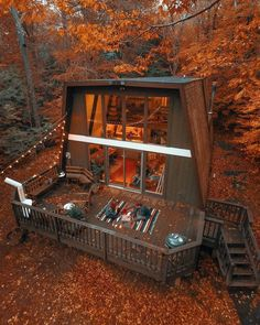 40 One of the Most Incredibly Overlooked Systems for Tiny House Design Exterior Tiny House Ideas Design Exterior House Incredibly Overlooked Systems Tiny Tiny House Cabin, Tiny House Design, Cabin Homes, My House, Cabins In The Woods, House In The Woods, Metal Building Homes, Building A House, A Frame House