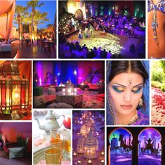 Items similar to Arabian Nights Wedding Color Theme on Etsy Arabian Theme, Arabian Party, Arabian Nights Theme, Moroccan Wedding Theme, Moroccan Party, Moroccan Theme, Moroccan Henna, Indian Theme, Arabian Nights Wedding