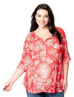 Maternity Blouses   Shirts · Fashion Bug Plus Size 3 4 Sleeve Split Neck  Tie Front  Maternity  Blouse a706521229a3
