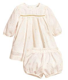 Dress and Puff Pants $24.99 | H&M US