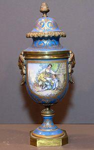 Sevres Vase.  19 century