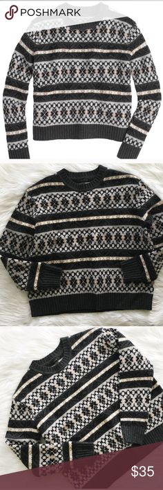 Fair isle sweater Size small, worn once American Eagle Outfitters ...