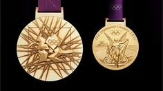 London 2012 Olympic gold medal - woot woot, let's bring home lots of these!! Go TEAM USA.