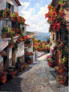 """Cobblestones to the sea"" ~ Guy Gantner"