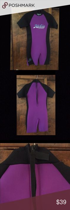 Hobie Wetsuit by Stearns Team Hobie by Stearns Shorty Scuba/Athletic Wetsuit.  Size Large.  Has Back Zipper with \