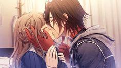 This kiss... Shin & Heroine  - Amnesia-