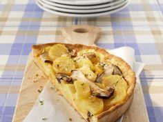 Steinpilz-Kartoffel-Quiche - smarter - Kalorien: 232 Kcal - Zeit: 35 Min. | eatsmarter.de