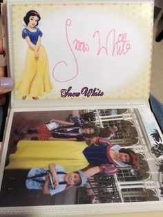 DIY Disney Autograph book printables.  Must do these