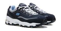 Enjoy the sporty look and total comfort of these Skechers DLites Centennial Wide athletic shoes.Nubuck, mesh and synthetic upper in a walking styleLace up front with padded collar and tongueOverlay accents with stitching and logo detailsTextile lining with cushioned comfort insoleLightweight shock-absorbing midsole designRubber traction outsole with 1 1/4 inch built-in heelWide sizingFor this style, 2W fits as regular wide width