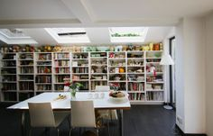 Jane and Rob's Inspiring London Townhouse: beautiful throughout, this is one side of the kitchen!
