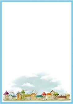 Pin de bimal em p Page borders Writing paper e Borders or Poster - Buy more Prints at Wallpart Boarder Designs, Page Borders Design, Borders For Paper, Borders And Frames, Scrapbook Frames, Scrapbook Paper, Free Printable Stationery, Printable Labels, Printables