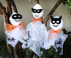 DIY: Halloween Ghosts
