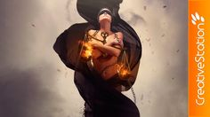 Themis - The flame of justice  - Speed art #Photoshop | CreativeStation