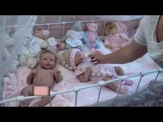 ▶ Joelle Full Bodied Silicone Baby by Romie Strydom - YouTube
