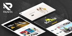 Want to sell your shoes & accessories online? Raavin shoes store WooCommerce theme looks really cheerful, welcoming each visitor to order something from you. This WooCommerce theme will be a ...