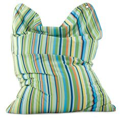 #Sitzsack von Sitting Bull - Fashion Bull: Green Stripes