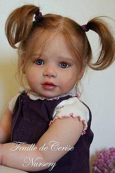 Feuille de Cerise Nursery - reborn toddler girl Lilly Kit by Regina Swialkowski | eBay