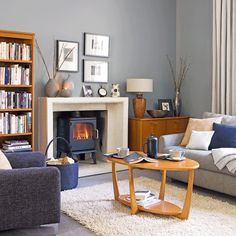 Create a working fireplace
