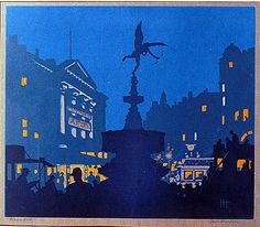 Hall Thorpe - Piccadilly Circus - c. 1925