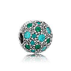 940193d35 PANDORA Green Cosmic Stars Clip Charm 791286MCZMX New Pandora, Cheap Pandora,  Pandora Jewelry,