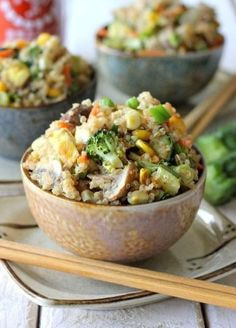 Vegetable Fried Quinoa Recipe