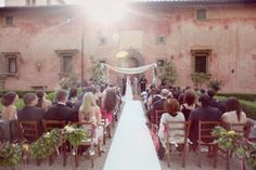 Tuscan Outdoor Wedding