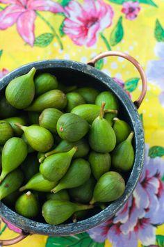Lulu's Sweet Secrets- Coconut blancmange and fig preserve