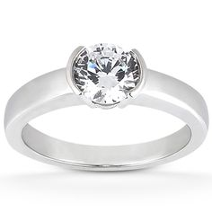 Lovely! Taryn Collection Diamond Engagement Ring TQD 1427 for about $500