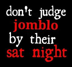 don't judge Jomblo