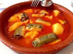 El all-i-pebre ('ajo y pimentón' en valenciano) es una típica salsa valenciana utilizada para cocinar pescados. La variante más famosa de este plato, que utiliza anguilas en su composición, ha conseguido una total supremacía sobre el resto por lo que actualmente lo usual es referirse con el nombre de all i pebre al all i pebre de anguilas.