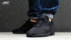 black adidas flux - Google Search