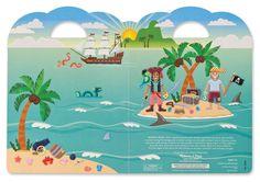 Piraten reuze sticker set » Creatief » Kidsspel.nl